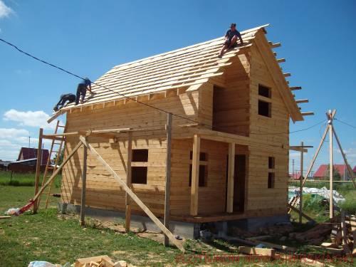 Дом из бруса 150 100