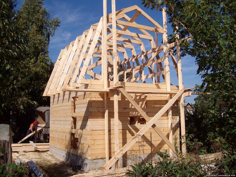 Пошаговое руководство по строительству крыши для дома своими руками 18