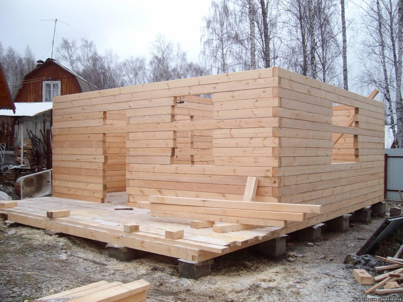 Строительство домов из бруса под 12