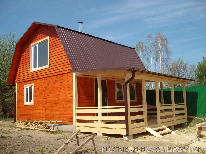 Как пристроить террасу к дачному дому своими руками